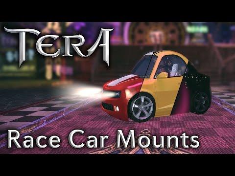 「TERA KR」Race Car Mounts in the Style Shop