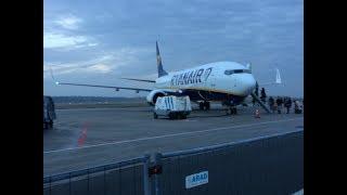TRIP REPORT | RYANAIR NEW CABIN | 737-800 | WARSAW MODLIN-NEWCASTLE | ECONOMY | HD