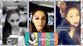 ARIANA GRANDE October 2015 Snapchat Story PART 2