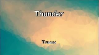 Download Lagu Imagine Dragons - Thunder |english spanish lyrics| Gratis STAFABAND