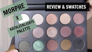 Morphe x Kathleenlights Palette SWATCHES and REVIEW
