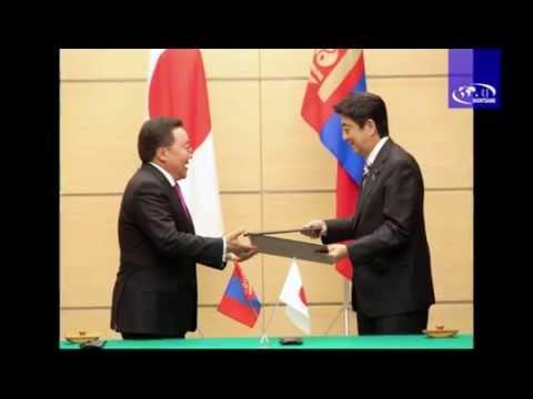 President of Mongolia visits Japan