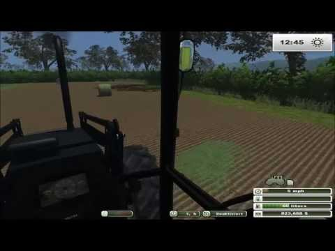 Farming Simulator 2013: Orchard Farm Ep4 Bale Wrapping With A McHale