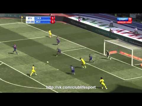 ЦСКА 1-1 Анжи (по пенальти 4:3) | Обзор Матча