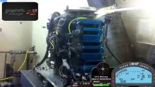 F1 - 2.5 L Mercury Dyno Run (10400 rpm)