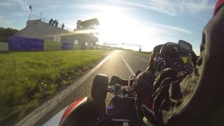 Angerville - Karting DD2 - yoshiyo - New personnal Record - 27.10.14
