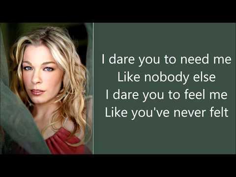 Leann Rimes - I Dare You