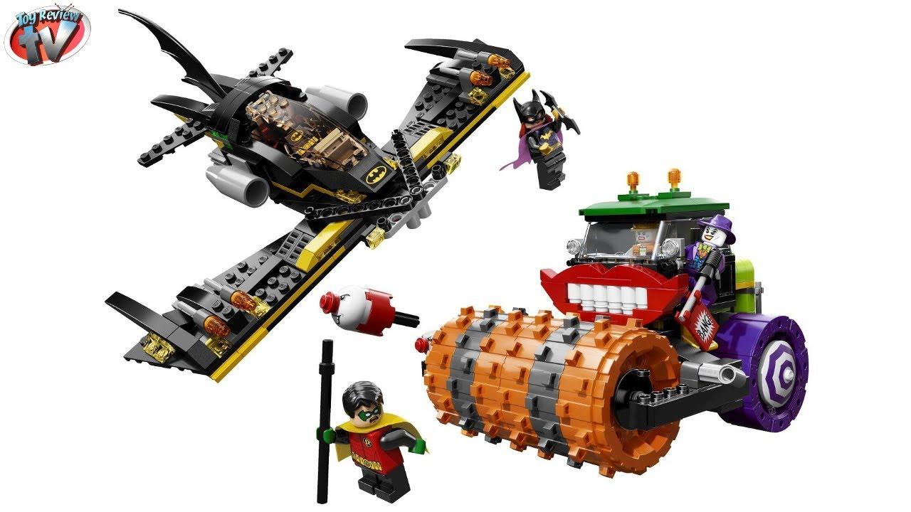 Lego Batman Toys : Lego batman the joker steam roller toy review youtube