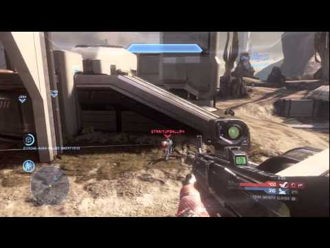 Halo 4 Multiplayer Gameplay - FINAL KILL CAM - TRIPLE KILLS - KILLING SPREE | My First Game HD