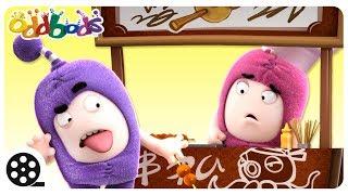 Oddbods - FOOD FAMISHED   Funny Cartoons For Kids   The Oddbods Show