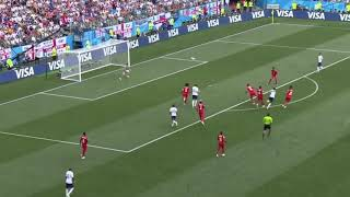 Jesse Lingard makes the Fortnite Hype dance in the World cup 2018 vs Panama