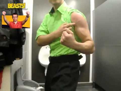 Vein Popping Biceps! ~ Myfitnesscentre video