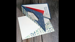 Twist Fold Gift Card Holder