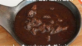 Ethiopian Food - Beef Wot Recipe - Berbere Injera Amharic wet wat doro