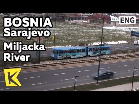 【K】Bosnia Travel-Sarajevo[보스니아 여행-사라예보]밀랴츠카 강을 따라 가는 파란 트램 여행/Miljacka River/Blue Tram