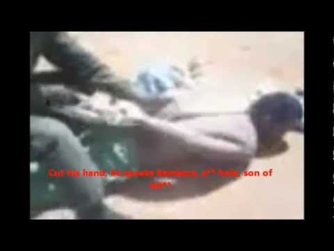 Complete horror: the Malian army killing harmless Tuareg civilians (subtitles: English & Français)