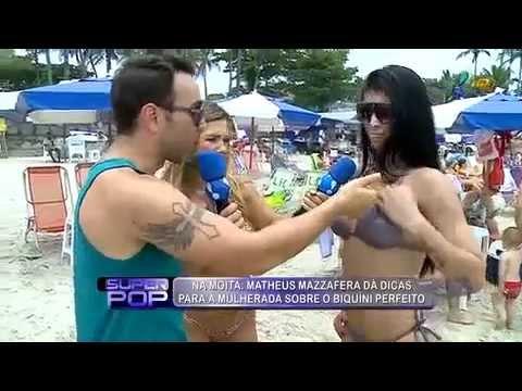 Suellen Fernandes - Superpop Quadro Na Moita 'Super Praia' Troca De Biquini