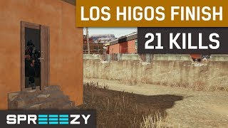 21 Kills | LeBron from Los Higos | PUBG 1 Man Squad Game #14