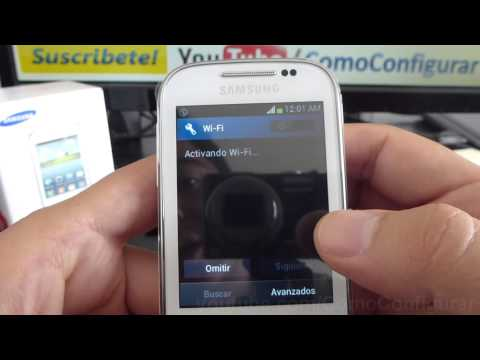 primer encendido samsung galaxy chat gt b5330 español Video Full HD