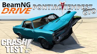 BeamNG Drive 1965 Pontiac Tempest LeMans GTO Crash Test
