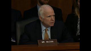Senator John McCain Fighting Brain Cancer