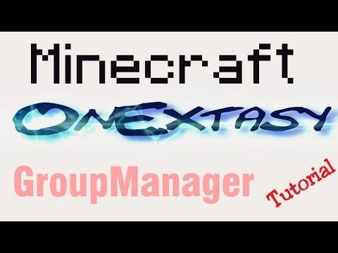 Minecraft GroupManager Plugin Tutorial 1.7.2 [German/HD]