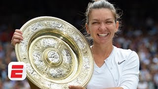 Simona Halep attributes victory over Serena Williams to 'focus and self-belief' | 2019 Wimbledon