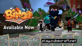 Bingo - The ultimate test of your survival skills - Trailer - CubeCraft Games