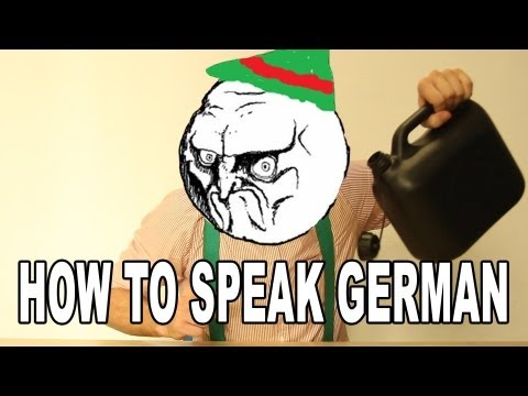 How To Speak German (Lesson 1)