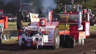 Heavy Modified @ Brande DK Euro Cup Tractor Pulling 2016