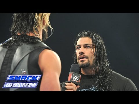 Roman Reigns interrupts Seth Rollins: SmackDown, January 9, 2015