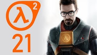 Half-Life 2 playthrough pt21 - A Suspenseful Rooftop Shoot-Out