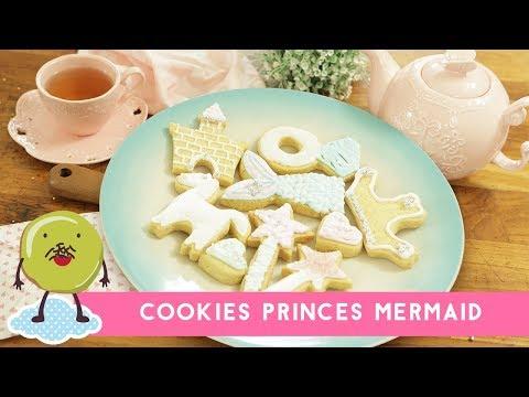 Resep Cookies Princess Mermaid