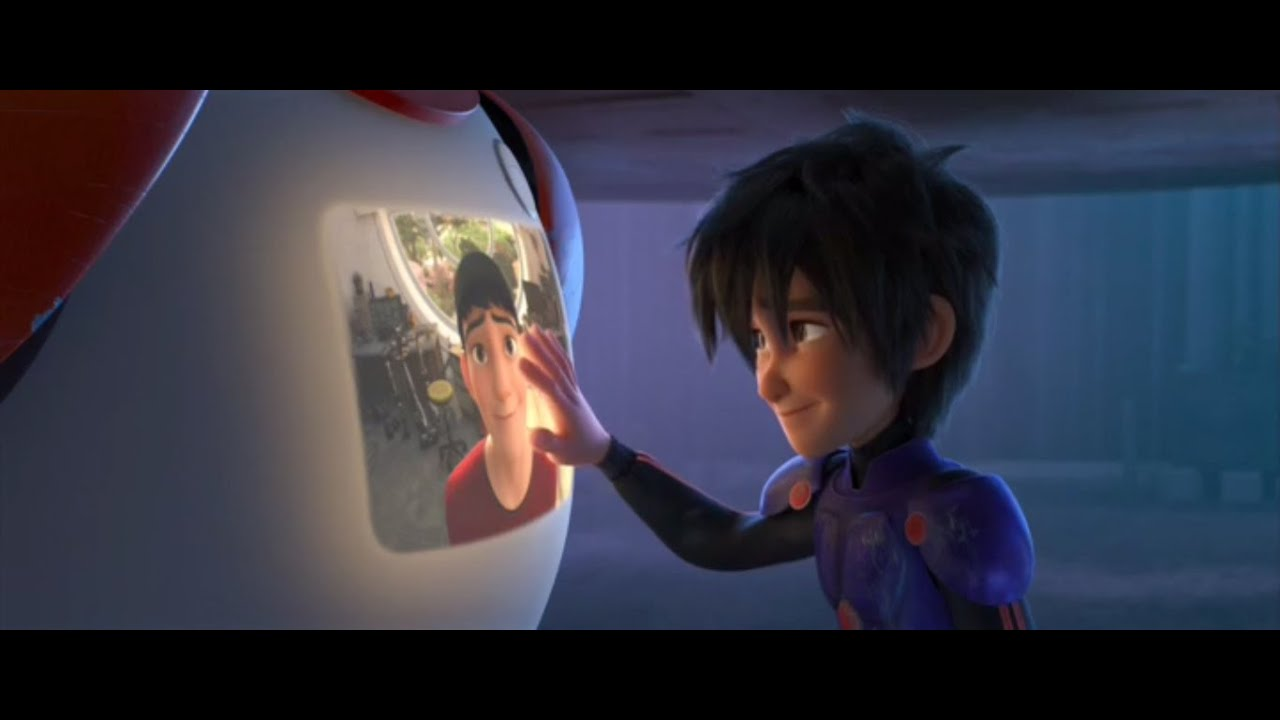 Big hero 6 credits scene they are not only books - Big Hero 6 Credits Scene They Are Not Only Books 7