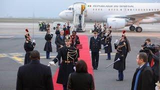 Visite d'Etat en France : L'arrivée du Président Macky SALL