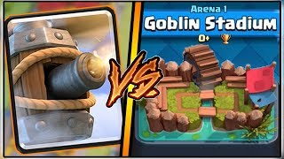 FLYING MACHINE TROLLING ARENA 1 IN CLASH ROYALE | FUNNY MOMENTS AND TROLL DECK!