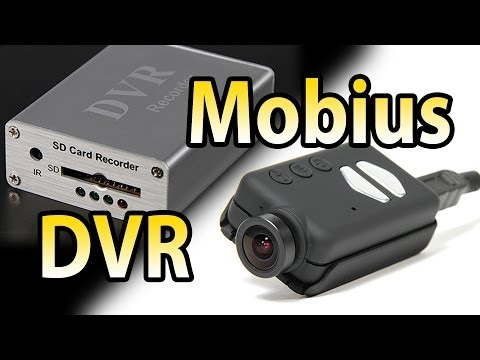 DVR Review. Mobuis wideangle on Mini Quadcopter (and some nice Sample flights at the end!)