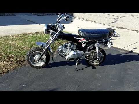 Classic 125. Honda CT70 Clone & Mini Rover 125. Z50 Clone Comparison Review and Ride