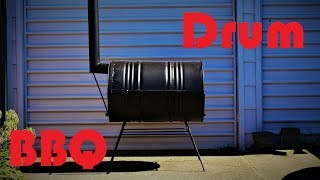 Oil Drum Barbeque