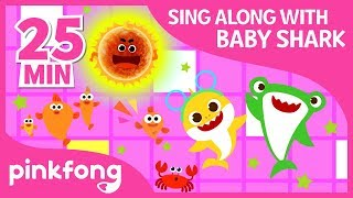 Sharky Shuffle and more | Sing Along with Baby Shark | +Compilation | Pinkfong Songs for Children