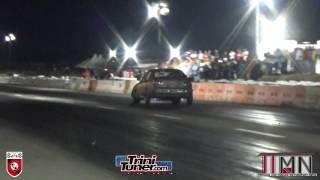 Racetrac Honda - Problems @ Racetrack Wheels Night Drag Racing April 2017