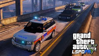 POLICE ESCORT UK PRIME MINISTER | GTA 5 PC LSPDFR | The British Way #133
