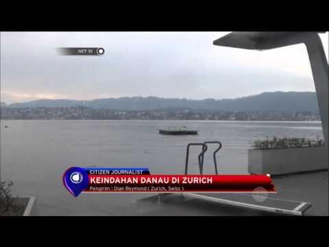 Keindahan Danau di Zurich - NET 10
