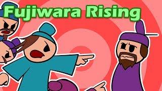Fujiwara Rising | History of Japan 31