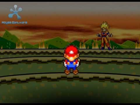 Goku Vs Mario Bros 2: The Revenge Part 2 5 video
