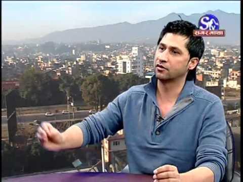 Vj Ravi Lamichhane & Vj samir sager in sagarmatha television Part B.flv