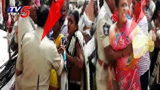 మహిళలపై పోలీస్ పంజా..! | Women Protest On Kadiri Highway Extension