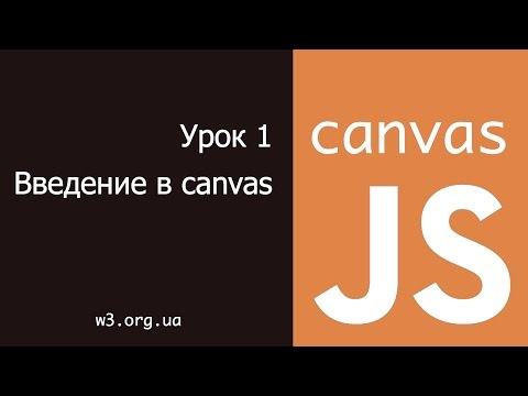 JavaScript Canvas 1. Основы canvas