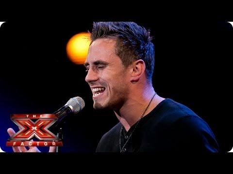 X Factor Joseph Anteater Joseph Whelan sings Ir...