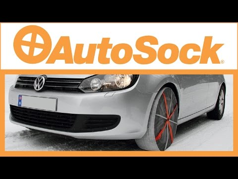 AutoSock tyre snow socks for cars, vans and trucks